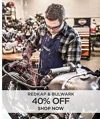 40% off Redkap and Bulwark Workwear