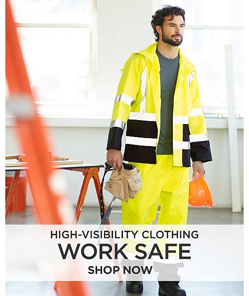 Work Safe High Visibility Clothing. Shop now