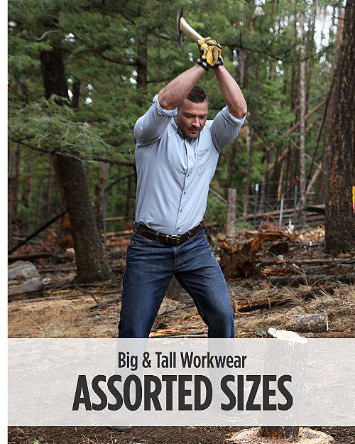 Big & Tall Workwear Assorted Sizes