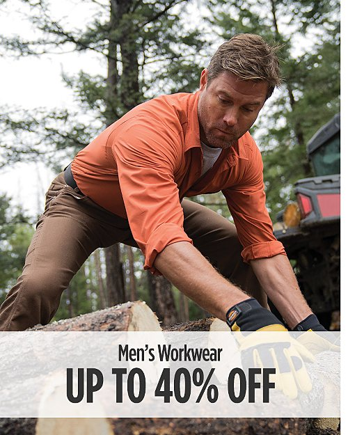 Up to 40% off Men's Workwear