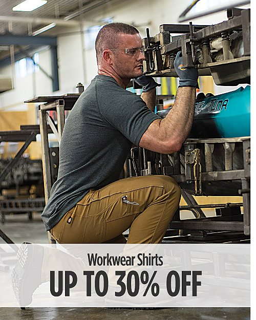 up to 30% off Workwear Shirts