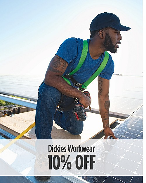 10% Off Dickies Workwear