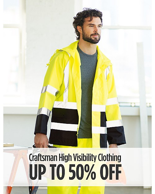Up to 50% off Craftsman High Visibility Workwear