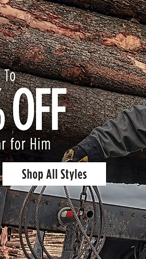 Up to 40% off Workwear for Him. Shop All Styles