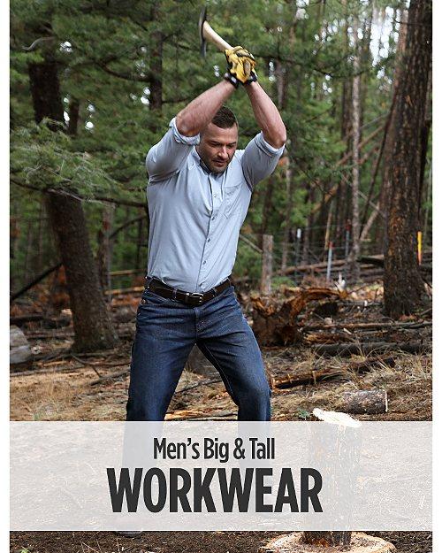 Men's Big & Tall Workwear