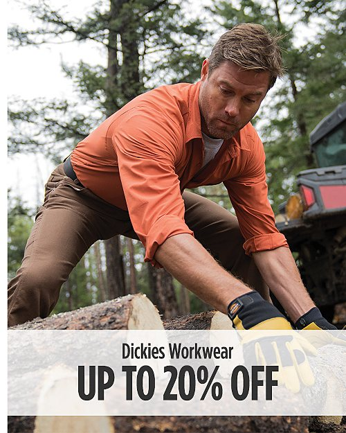 Up to 20% off Dickies Workwear. Shop now