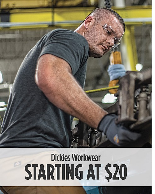 Dickies workwear starting at $20