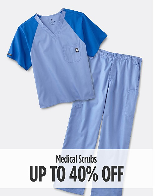Up to 40% Off Medical Scrubs