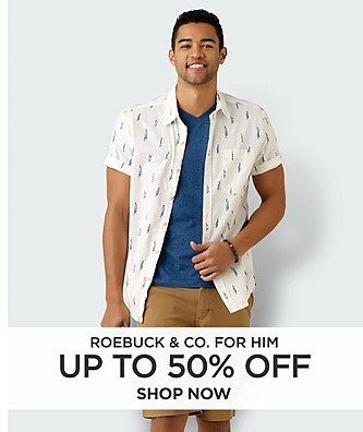 Up to 50% off Roebuck & Co for him
