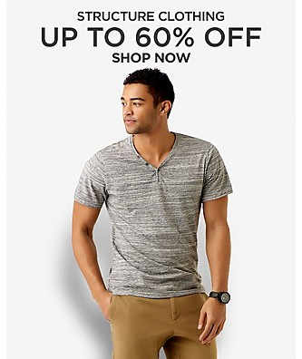Up to 60% off Structure clothing