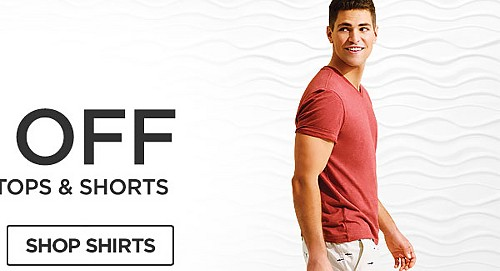 Up to 60% off Young Men's shorts tops and shorts. Shop Shirts