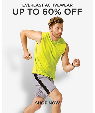 Up to 60% off Everlast Activewear