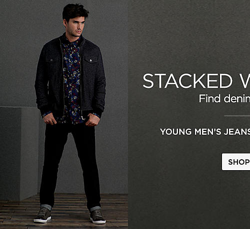 Young Men's Jeans Starting at $17.99