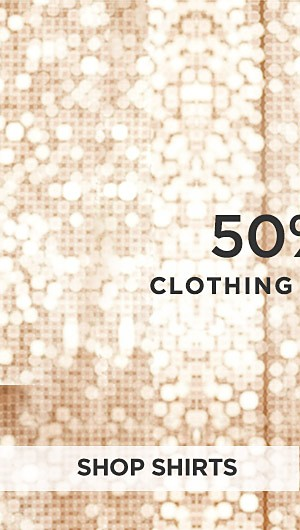 Up to 50% off clothing for Young Men. Shop Shirts