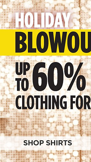 Up to 60% off clothing for Young Men. Shop Shirts