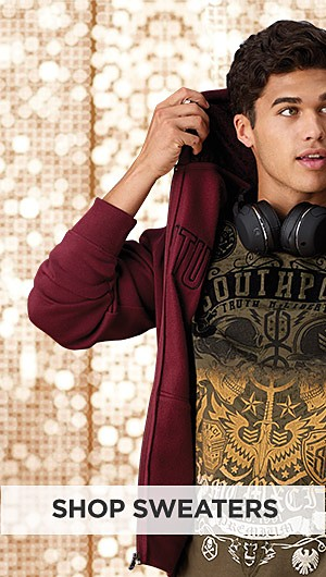 Up to 60% off clothing for Young Men. Shop Sweaters