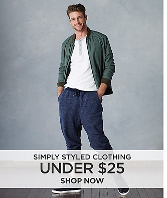 Simply Styled clothing under $25. Shop Now