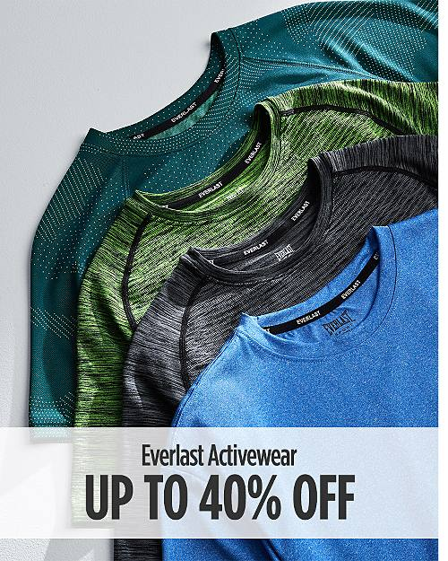 Up to 40% Off Everlast Activewear For Him