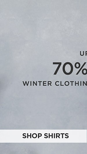 Up to 70% off winter clothing for young men. Shop Shirts