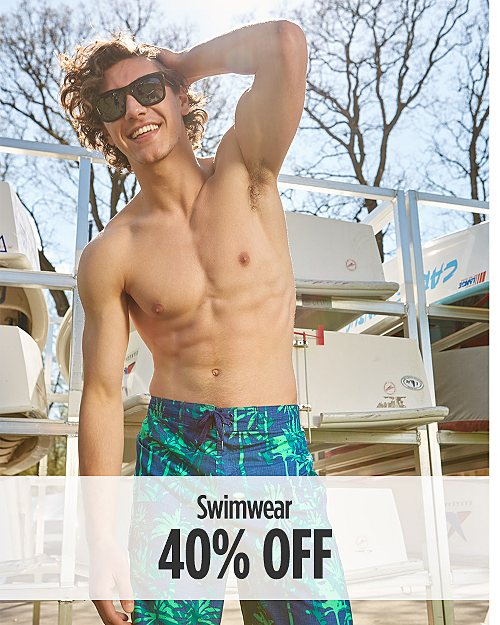 40% Off Swimwear for Him