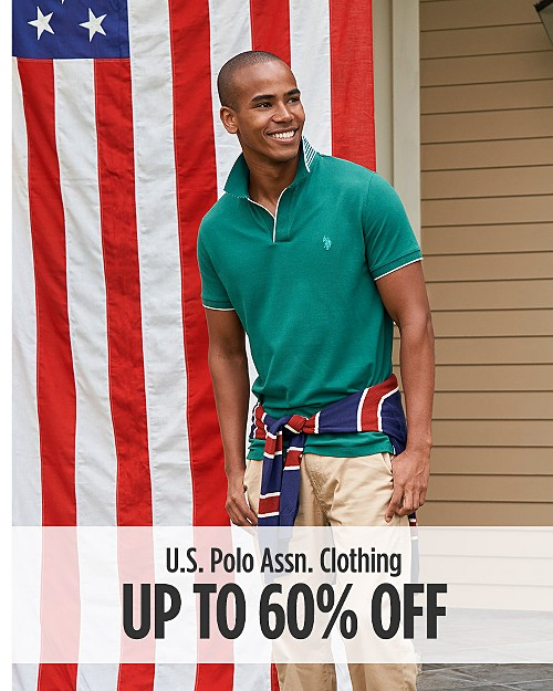 Up to 60% Off U.S. Polo Assn Clothing