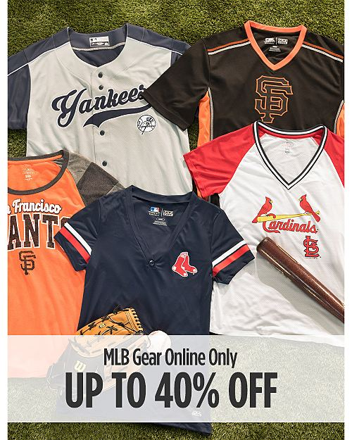 Online Only! Up to 40% off MLB Fan Shop