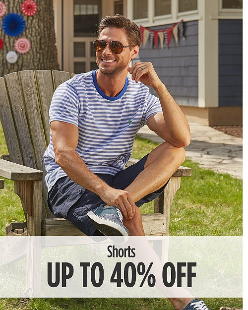 Up to 40% Off Shorts for Him