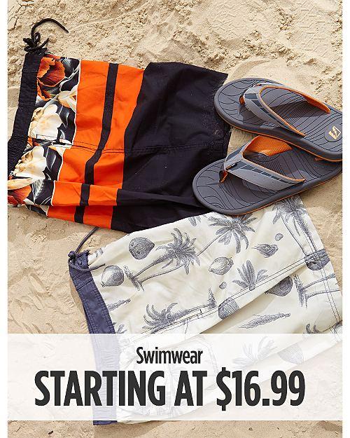 Swimwear Starting at $16.99