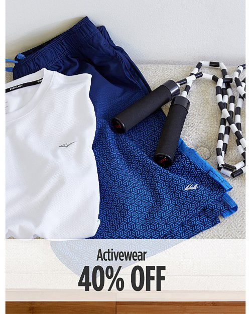 40% off Activewear