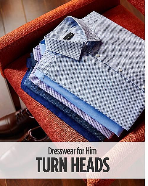 Turn Heads! Dresswear for Him