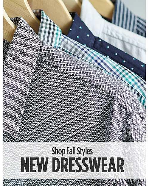 Shop All New Dresswear for Fall!