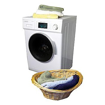smaller capacity like laundry centers allinone washer and dryers have a smaller capacity than standalone washer and dryers