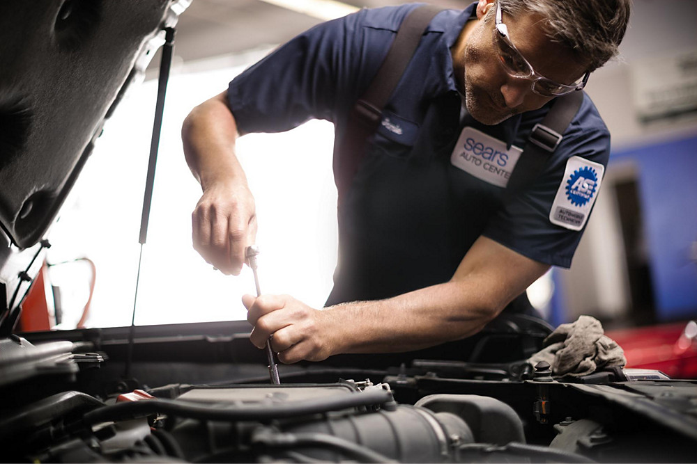Auto services sears for Synthetic motor oil change schedule