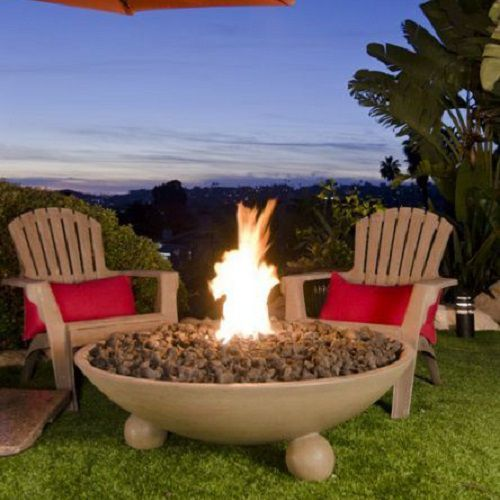 Put the finishing touches on your fire pit