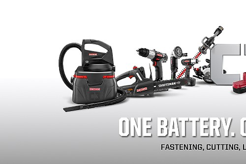 One Battery. Over 35 Tools.