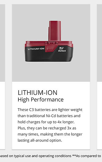 Lithium-Ion High Performance