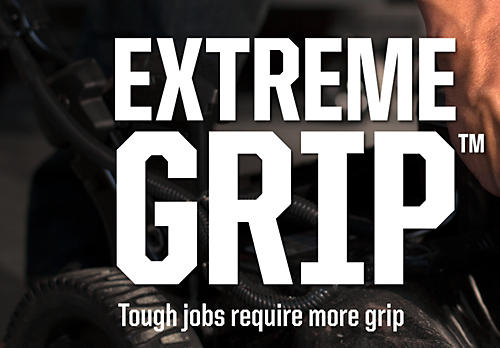 Tough jobs require more grip