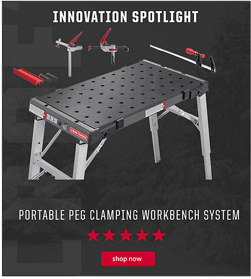 Craftsman Portable Peg Clamping System