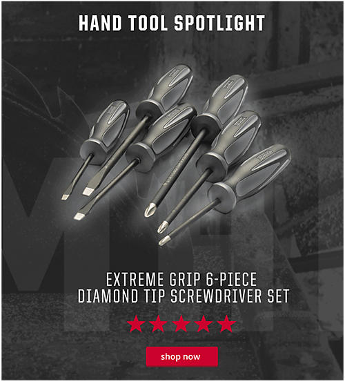 Craftsman Extreme Grip 6-Piece Diamond Tip Screwdriver Set