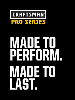 Pro Series. Made to Perform. Made to Last.