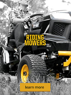 Pro Series. Riding Mowers.