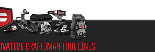 Learn more about these innovative Craftsman product lines