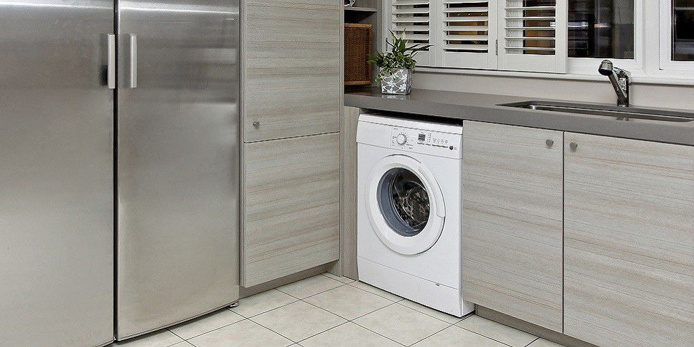 All-in-one washing machine and dryer