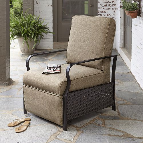 Patio furniture cushion