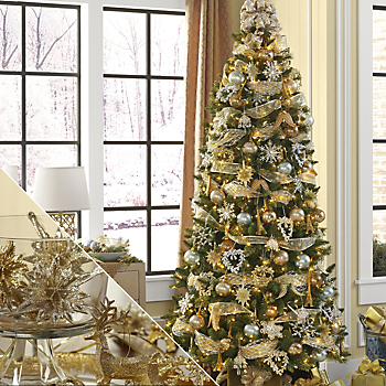 gold christmas - Gold Christmas Tree