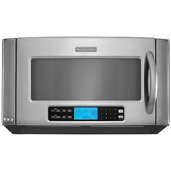 conventional ovens vs microwave ovens Standard microwave ovens cook at reduced power by alternating full power, on-and-off, at intervals (eg, 50% power at 5 minutes means the food is actually being heated at full power for a total of 2 1/2 minutes.
