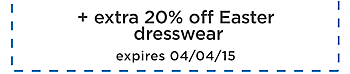 up&#x20&#x3b;to&#x20&#x3b;50&#x25&#x3b;&#x20&#x3b;off&#x20&#x3b;plus&#x20&#x3b;extra&#x20&#x3b;20&#x25&#x3b;&#x20&#x3b;off&#x20&#x3b;Easter&#x20&#x3b;dresswear