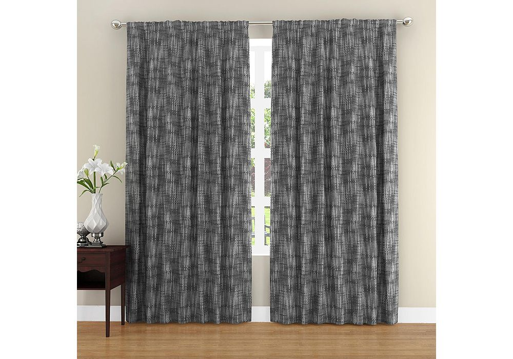 Colormate Textured Cotton Window Panel
