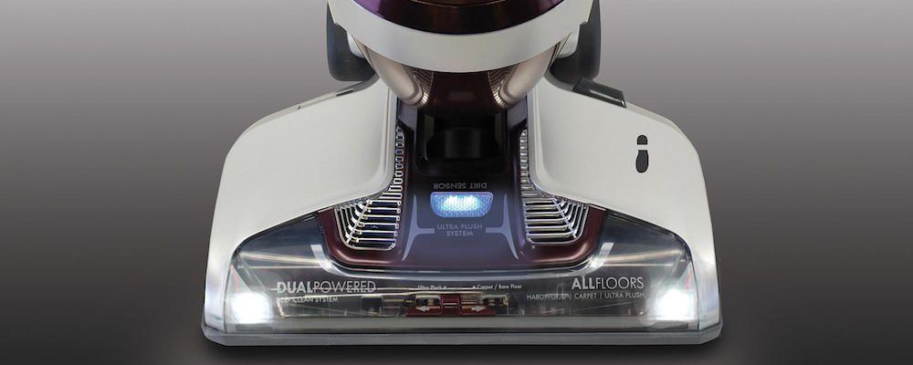 Kenmore vacuum cleaners with dirt sensors