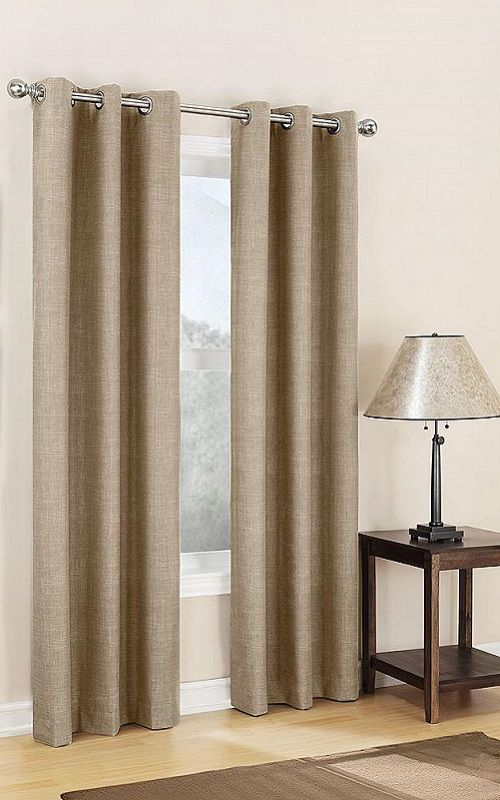 Add insulating drapes for even more heat retention